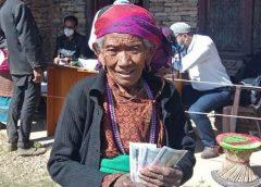 पाँचपोखरीमा बैंक मार्फत सामाजिक सुरक्षा भत्ता वितरण